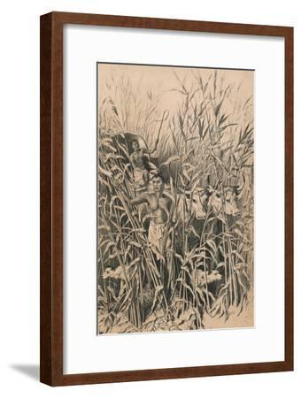 A Troublesome Road, c1880--Framed Giclee Print