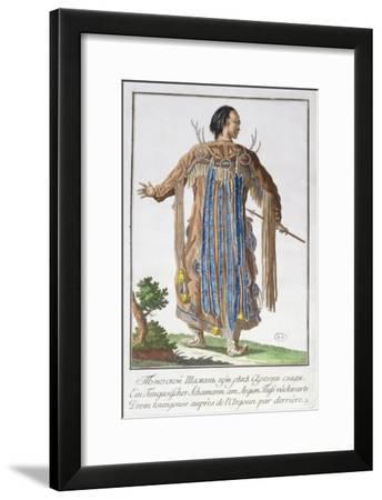 A Tungusian Shaman--Framed Giclee Print