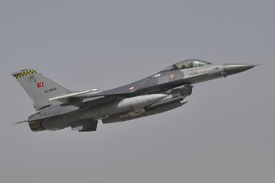 A Turkish Air Force F-16C Taking Off During Exercise Anatolian Eagle-Stocktrek Images-Photographic Print