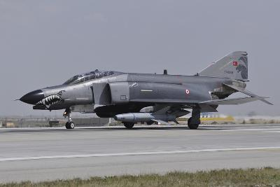 A Turkish Air Force F-4E 2020 Terminator Ready for Take-Off-Stocktrek Images-Photographic Print