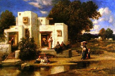 A Turkish House-Narcisse Virgile Diaz de la Pena-Giclee Print