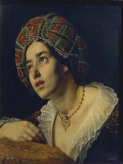 A Turkish Woman-Yakov Fyodorovich Kapkov-Giclee Print