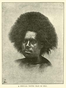 A Typical Young Man of Fiji