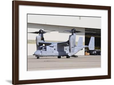 A U.S. Marine Corps Mv-22B Osprey at Marine Corps Air Station Miramar-Stocktrek Images-Framed Photographic Print