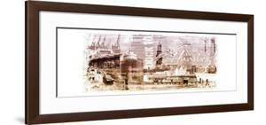 Hamburg III by A.V. Art