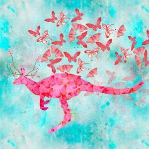 Kangaroo Flower by A.V. Art