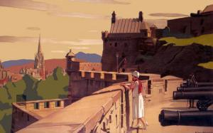 Edinburgh by the East Coast Route by A Van Anrooy