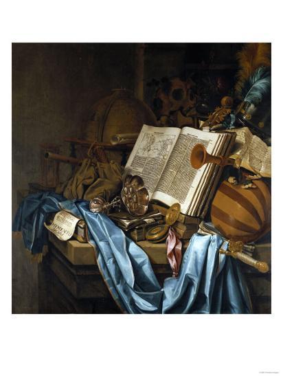 A Vanitas, 1656-Jean B?raud-Giclee Print