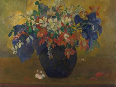 A Vase of Flowers, 1896-Paul Gauguin-Giclee Print