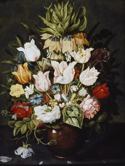 A Vase of Flowers, C. 1616-Osias The Elder Beert-Giclee Print
