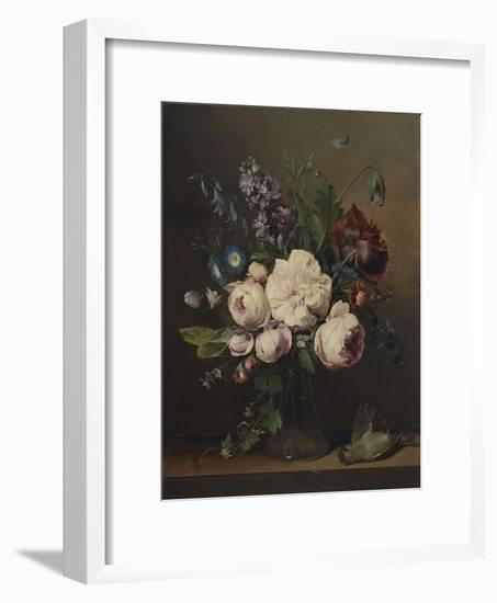 A Vase of Flowers-Louis Leopold Boilly-Framed Giclee Print