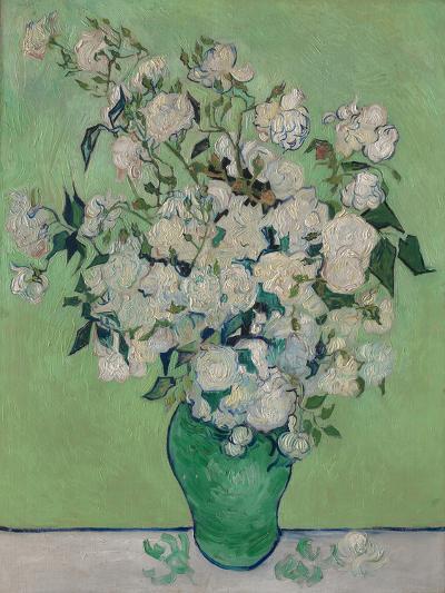 A Vase of Roses, 1890-Vincent van Gogh-Giclee Print