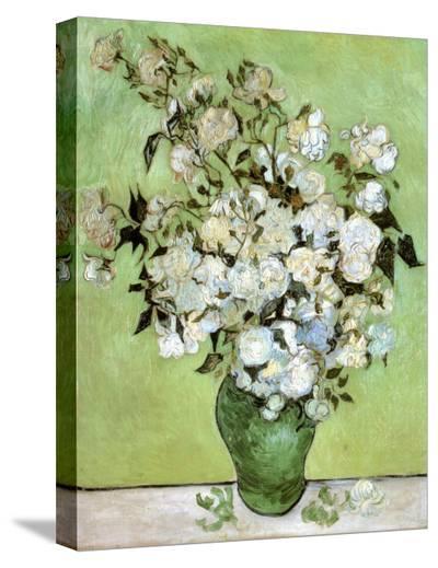A Vase of Roses, c.1890-Vincent van Gogh-Stretched Canvas Print