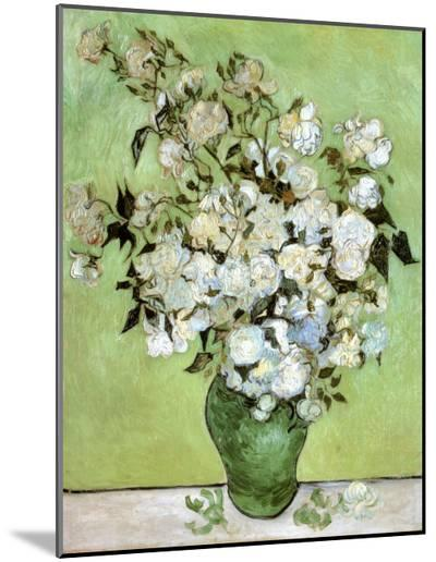 A Vase of Roses, c.1890-Vincent van Gogh-Mounted Print