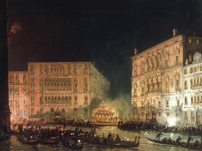 A Venetian Festival-Giovanni Grubacs-Giclee Print