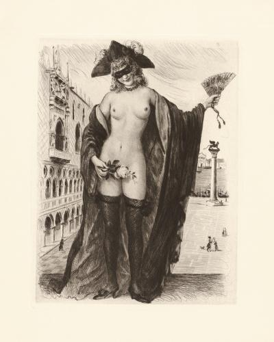 A Venetian Rose-Gabriel Ferrier-Premium Giclee Print