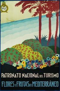 Patronato Nacional Del Turismo Spanish Travel Poster by A. Vercher