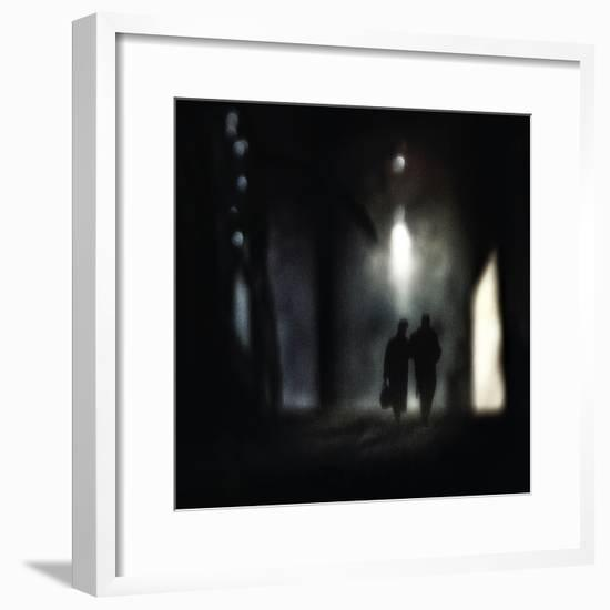 a very long walk together-Piet Flour-Framed Photographic Print
