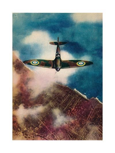 A Vickers Supermarine Spitfire, 1940--Giclee Print