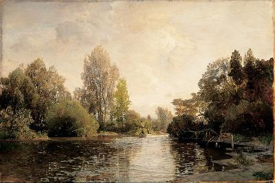 A View from Plankenberg, 1887-Emil Jakob Schindler-Giclee Print