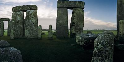 A View from the Center Section of Stonehenge-Macduff Everton-Photographic Print