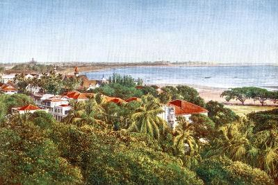 A View from the Ridge, Bombay, India, Early 20th Century--Giclee Print