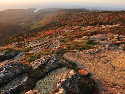A View from the Top of Cadillac Mountain-Raul Touzon-Photographic Print