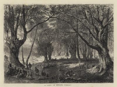 A View in Epping Forest--Giclee Print