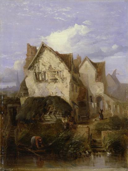 A View Near Norwich-Thomas Lound-Giclee Print