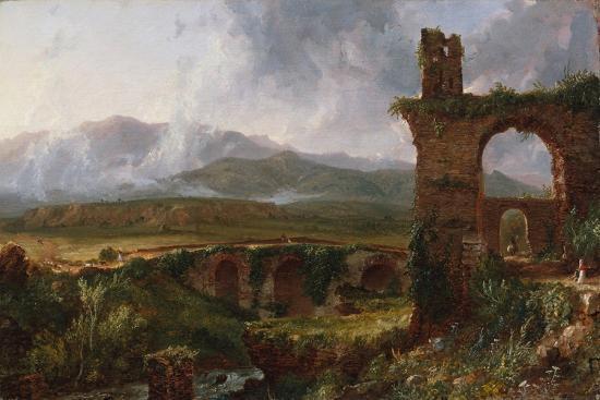 A View Near Tivoli (Morning), 1832-Thomas Cole-Giclee Print