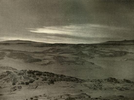 'A View North, Towards The Dying Sun, in March', c1908, (1909)-Unknown-Photographic Print