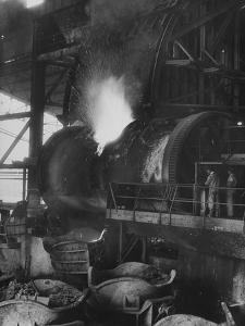 A View of a Copper Smelter in a Copper Mine