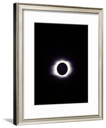 A View of a Total Solar Eclipse-Tim Laman-Framed Photographic Print