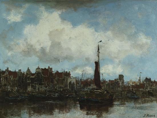 A View of Amsterdam-Jacob Henricus Maris-Giclee Print