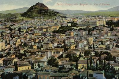 A View of Athens--Photographic Print