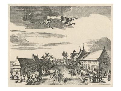 A View of Batavia also known as Djakarta--Giclee Print