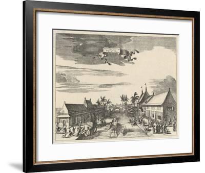 A View of Batavia also known as Djakarta--Framed Giclee Print