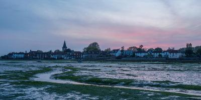 A View of Bosham in West Sussex-Chris Button-Photographic Print