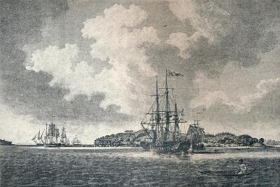 A View of Botany Bay, 1789-Robert Clevely-Giclee Print