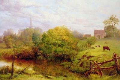 A View of Bredon-Henry Key-Giclee Print