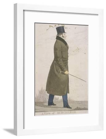 A View of Burghersh, 1822-Richard Dighton-Framed Giclee Print
