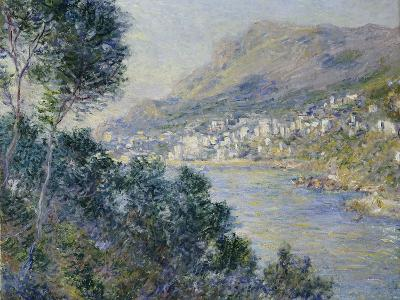A View of Cape Martin, Monte Carlo-Claude Monet-Giclee Print