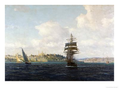 A View of Constantinople-Michael Zeno Diemer-Giclee Print