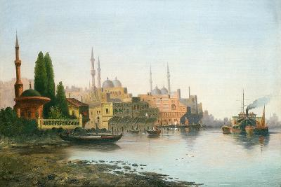 A View of Constantinople-F. Herink-Giclee Print