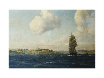 A View of Constantinople-Michael Zeno Diemer-Premium Giclee Print
