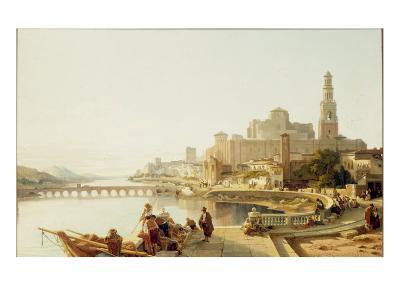 A View of Cordoba, 1863-Francois Bossuet-Giclee Print