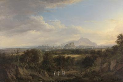 A View of Edinburgh from the West, C.1822-26-Alexander Nasmyth-Giclee Print