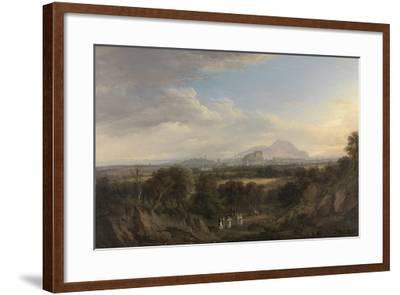 A View of Edinburgh from the West, C.1822-26-Alexander Nasmyth-Framed Giclee Print