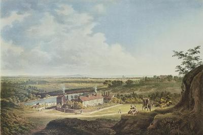 A View of Hampstead Heath Looking Towards London, 1804-Francis James Sarjent-Giclee Print