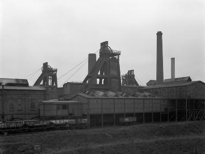 A View of Horden Colliery, County Durham, 1964-Michael Walters-Photographic Print